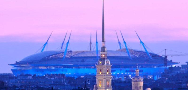 Стадион на Крестовском Санкт Петербург