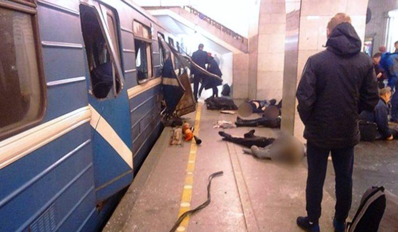 Терроризм Петербург метро СПБ