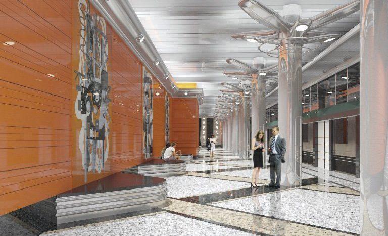 Станция метро «Беговая» Петербург
