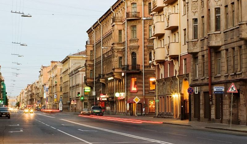 Улица Восстания Петербург СПБ